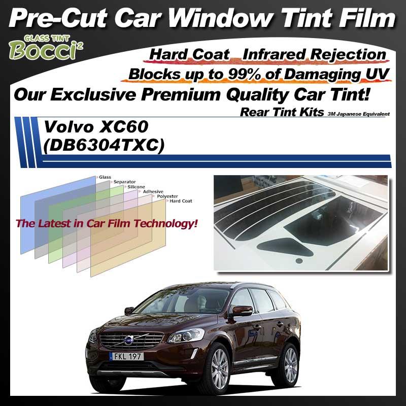 Volvo XC60 (DB6304TXC) Pre-Cut Car Tint Film UV IR 3M Japanese Equivalent