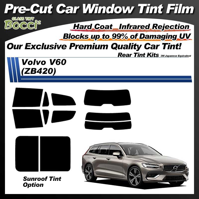 Volvo V60 (ZB420) Cinquecento Pre-Cut Car Tint Film UV IR 3M Japanese Equivalent