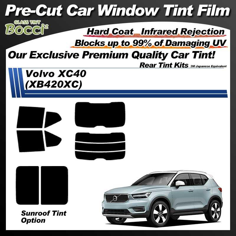 Volvo XC40 (XB420XC) Cinquecento Pre-Cut Car Tint Film UV IR 3M Japanese Equivalent