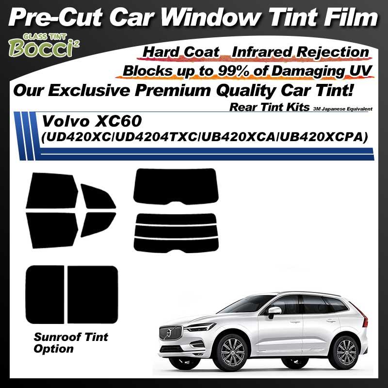Volvo XC60 (UD420XC/UD4204TXC/UB420XCA/UB420XCPA) Cinquecento Pre-Cut Car Tint Film UV IR 3M Japanese Equivalent